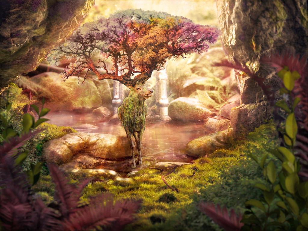 Forest Spirit by Rafunsel