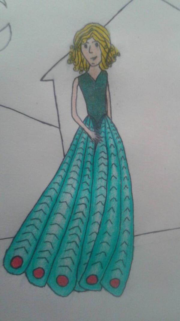 Peacock girl by Hartgirl906