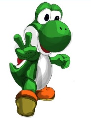 YOSHI simple shading by 86Nemesi