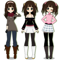 Kisekae | Some of Lila's Outfits [Export] by teto414