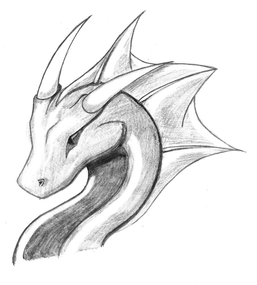 Dragon Sketch 4 by ryu-takeshi on DeviantArt