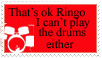 That's OK Ringo...stamp by sweetlilrocknroll