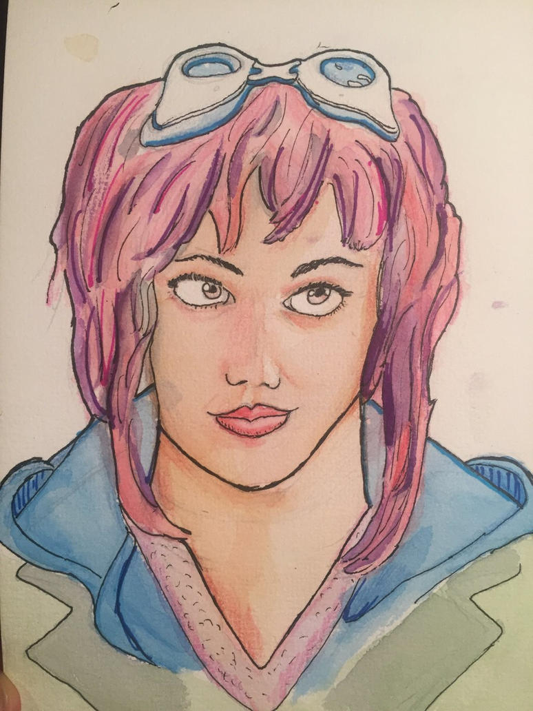 Ramona flowers by BasementLord