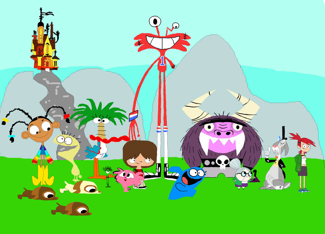 Foster's Home For Imaginary Friends By NickyWindu On
