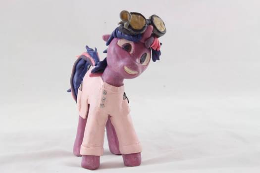 Twilight Sparkle Mad Scientist Wax Sculpture