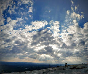 Panoramic from Stone Mountain