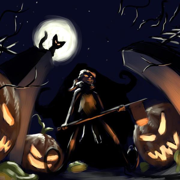 TAC: Surreal Halloween by algenpfleger