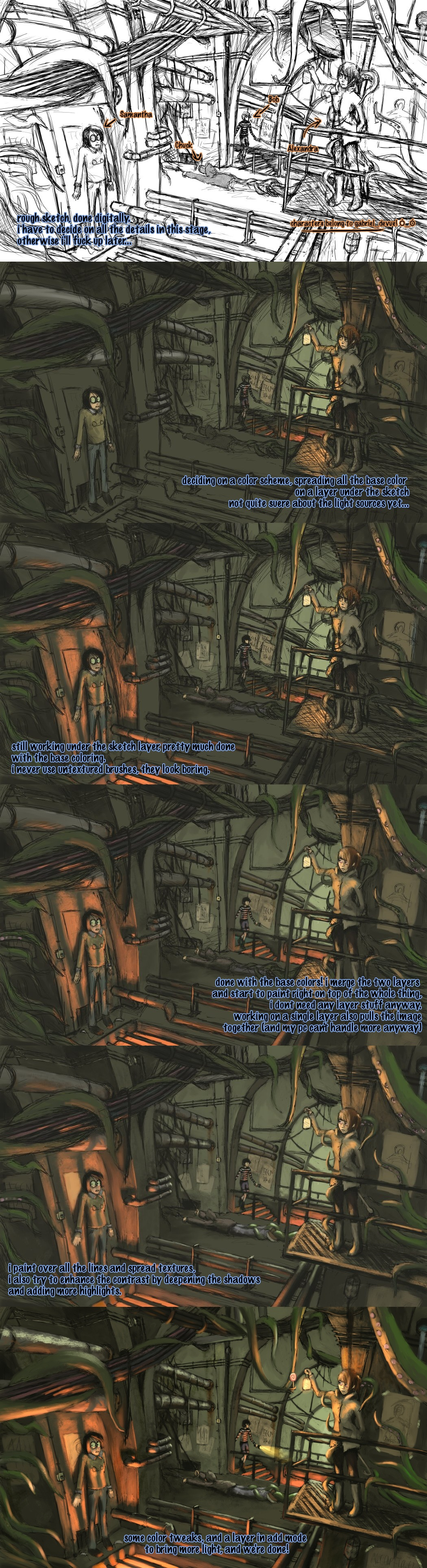 Fanart of Doom - Steps by algenpfleger