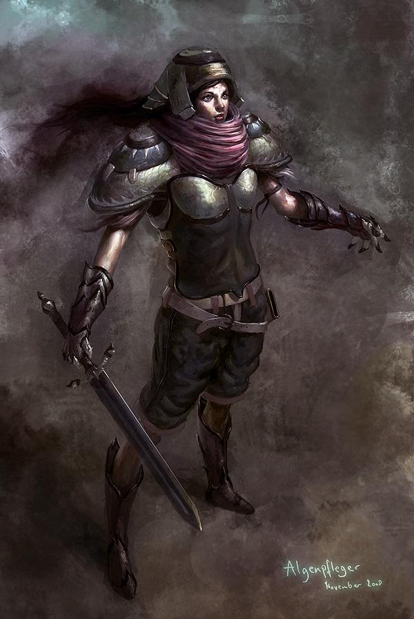 Knight girl... or anything o_o