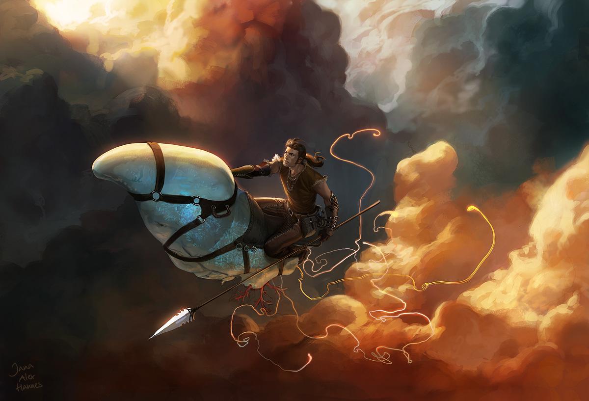 Galeria de Arte: Ficção & Fantasia 1 - Página 2 Team_chow_with_jana_and_alex_5_by_algenpfleger