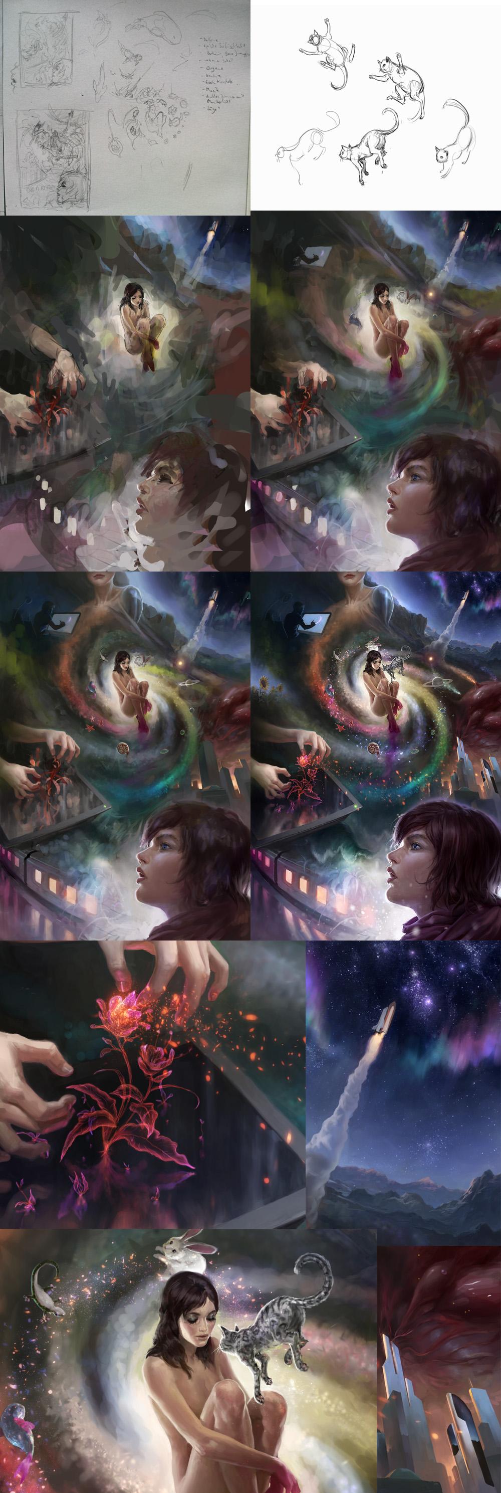 Inner Universe - Steps by algenpfleger