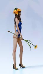 Flower-chan by algenpfleger