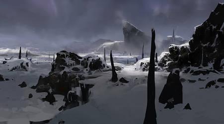 Ash and Snow by algenpfleger