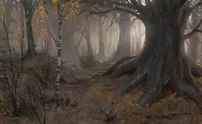 Autumn in Ganymede