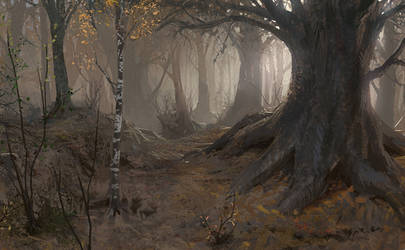 Autumn in Ganymede by algenpfleger