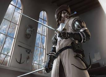 MtG: Elite Inquisitor by algenpfleger