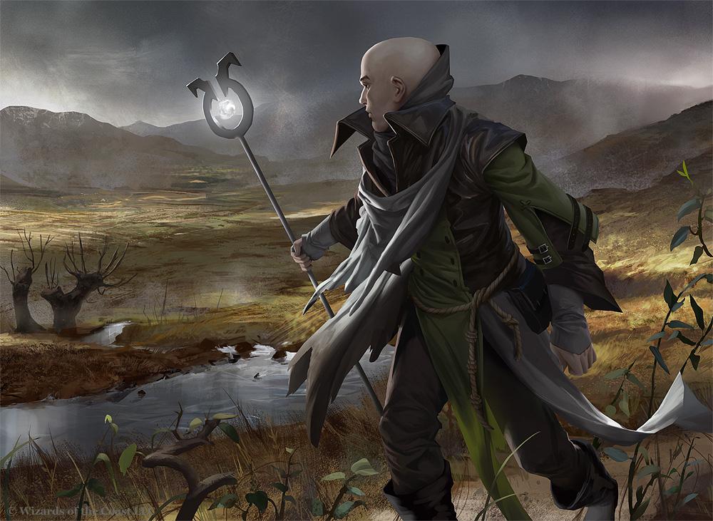 MtG: Avacyn's Pilgrim by algenpfleger