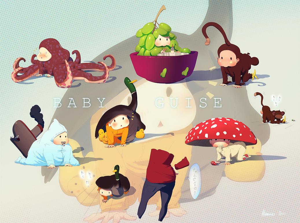 Baby Costumes by algenpfleger