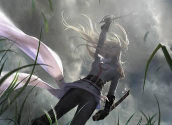 MtG: Thalia, Guardian of Thraben by algenpfleger
