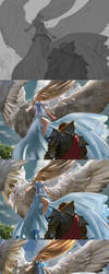 MtG: Restoration Angel - Steps by algenpfleger