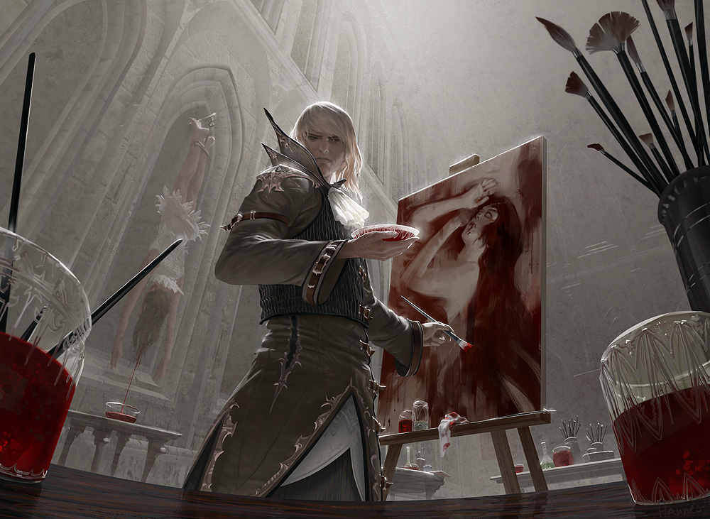 Mtg Blood Artist By Algenpfleger On Deviantart