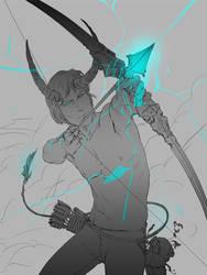 Demon archer by algenpfleger