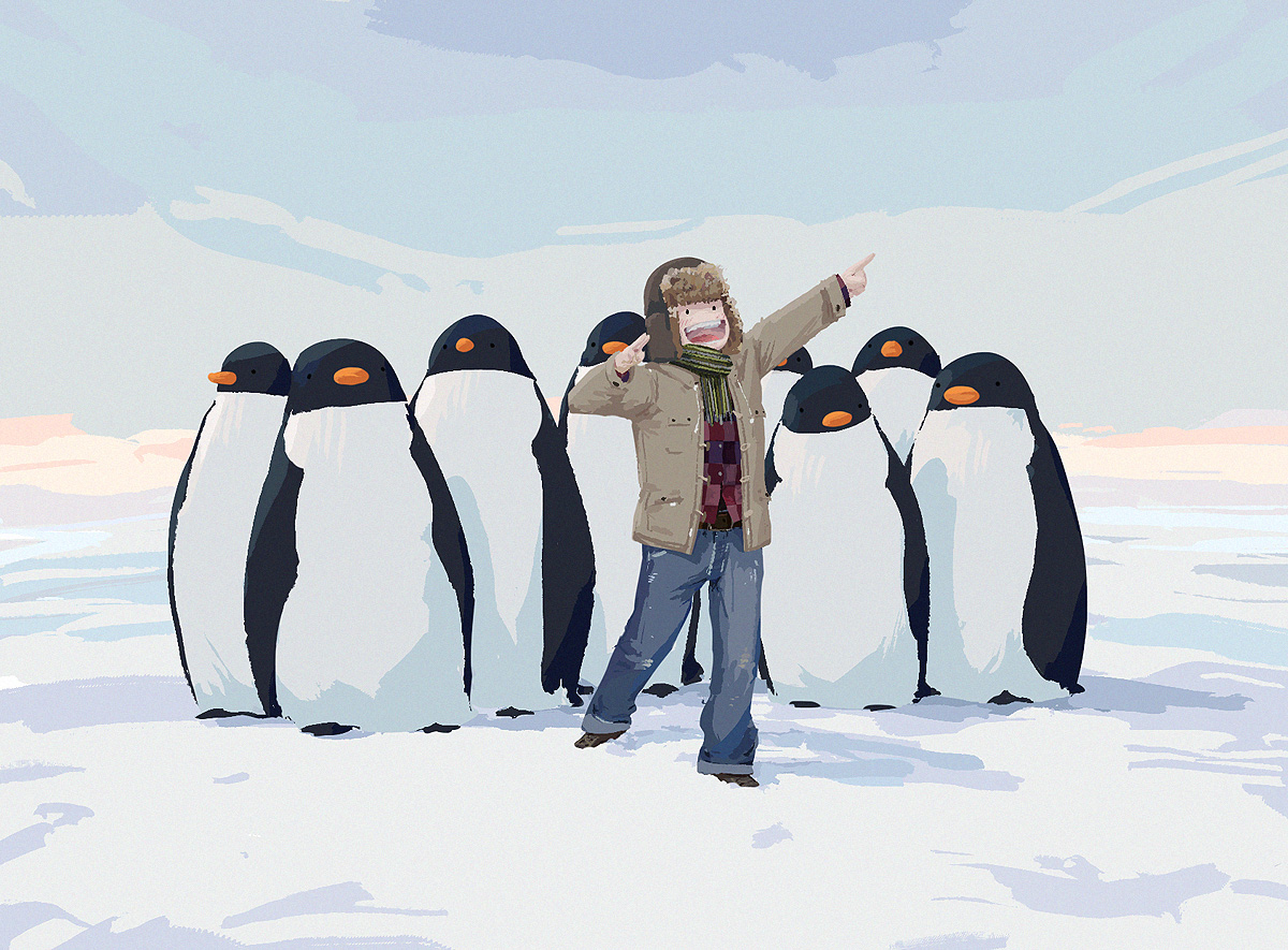Penguin ID by algenpfleger