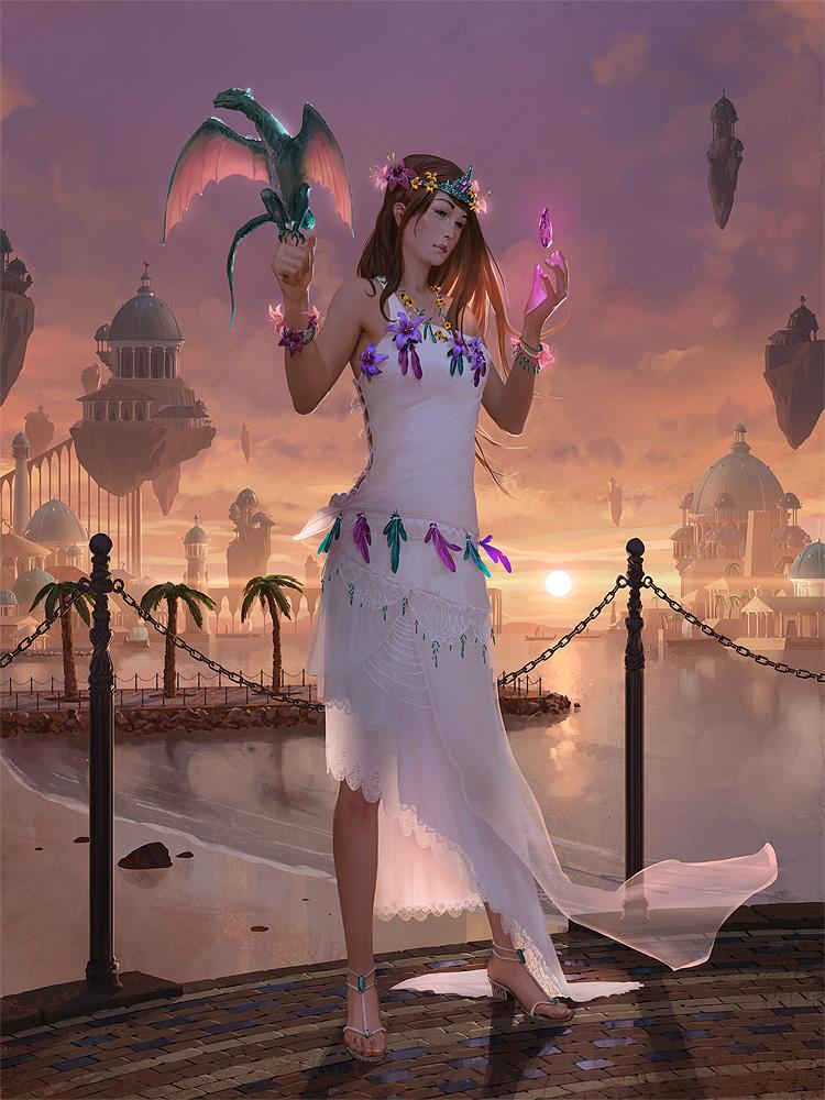 Princess of Atlantis by algenpfleger