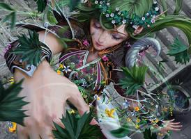 MtG: Shaman of Spring by algenpfleger