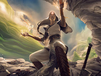 MtG: Soulfire Grand Master by algenpfleger