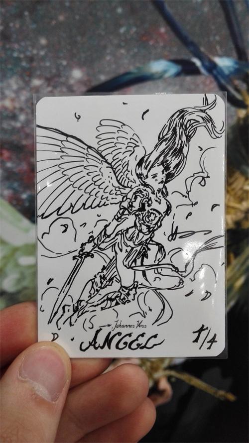 Hand drawn Token by algenpfleger
