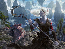 MtG: Stoneforge Mystic by algenpfleger