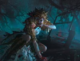 MtG: Bloodmad Vampire by algenpfleger