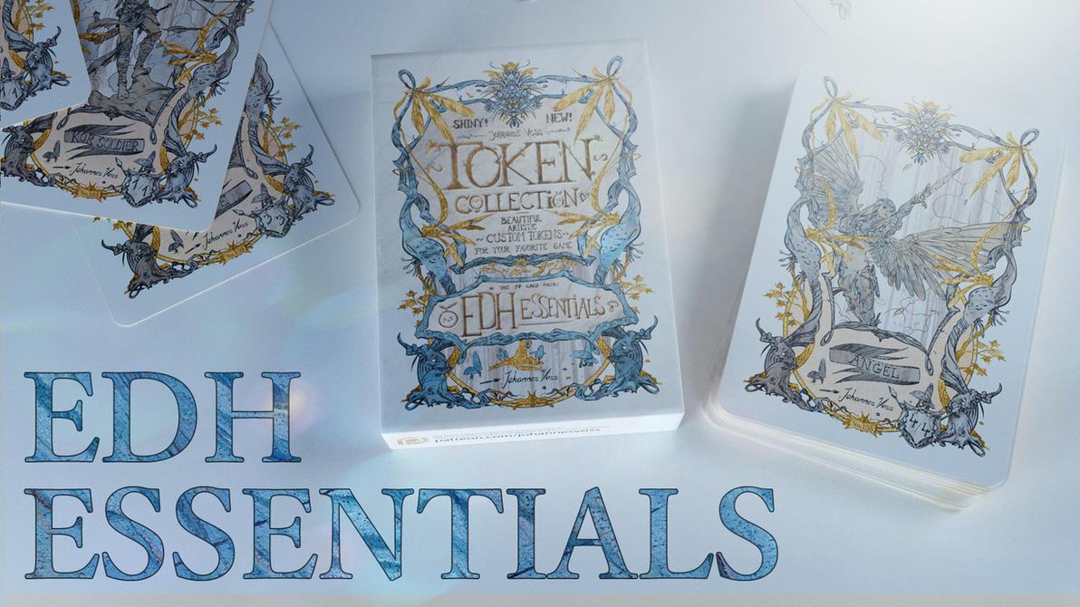 Token Collection - EDH Essentials by algenpfleger