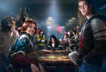 Gwent: Main Promo Art by algenpfleger
