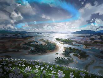 MtG: Island by algenpfleger