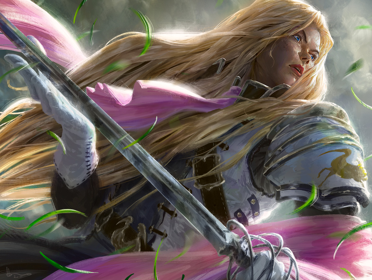 MtG: Thalia, Heretic Cathar Promo by algenpfleger