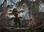 MtG: Rosethorn Acolyte