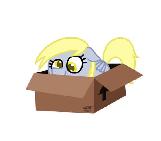 Derpy Box by Zicygomar