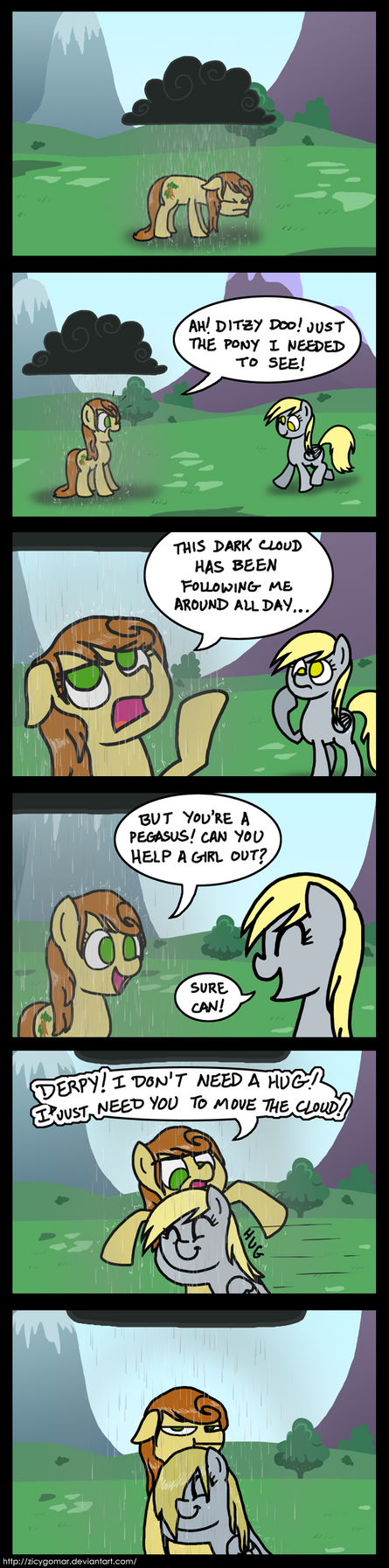 Cloudy with a Chance of Hugs by Zicygomar