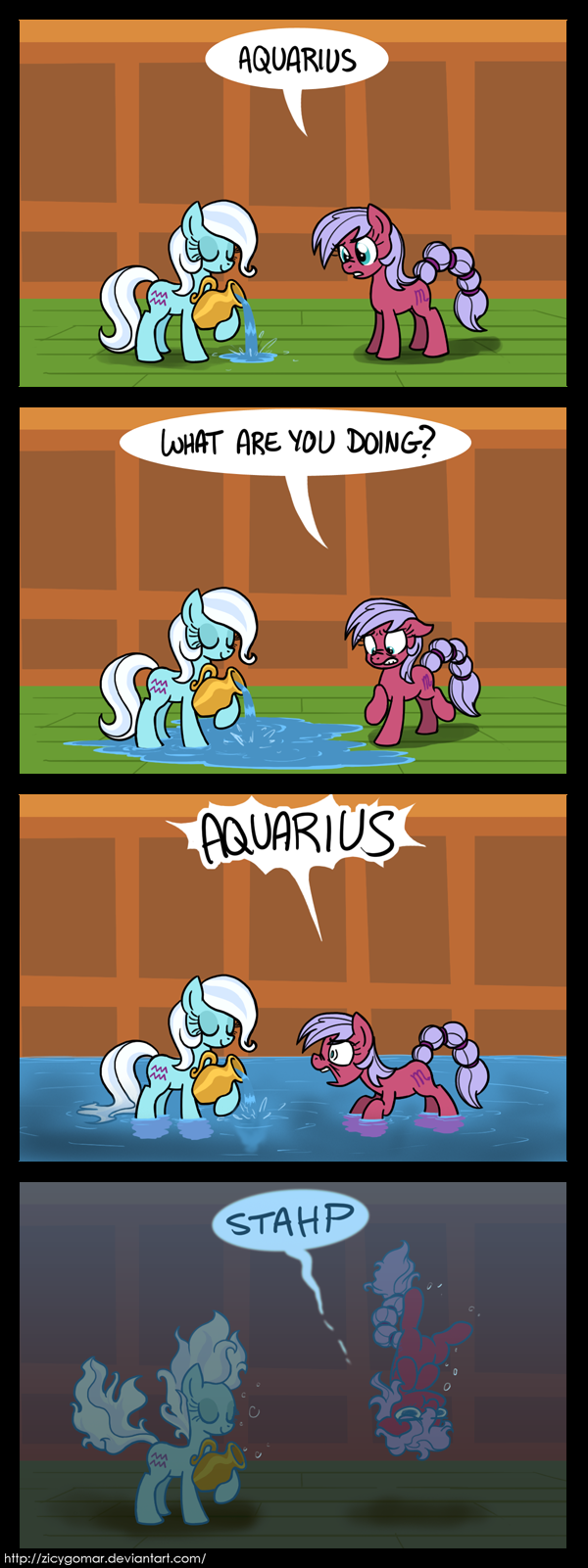 Aquarius Gives No Bucks by Zicygomar