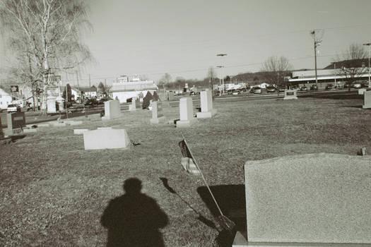 Self Portrait in Shadow