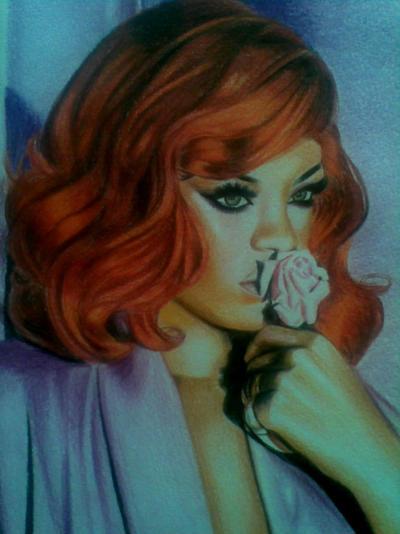Rihanna by Vira1991