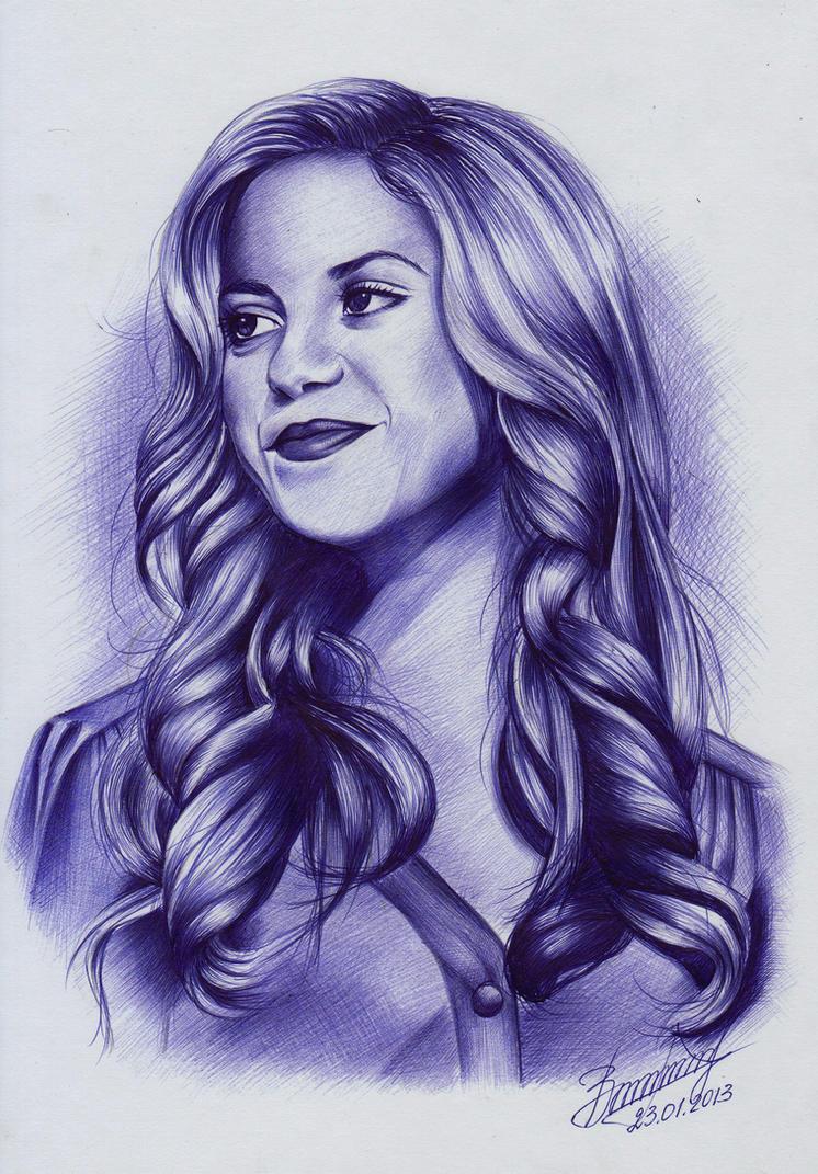 Shakira by Vira1991
