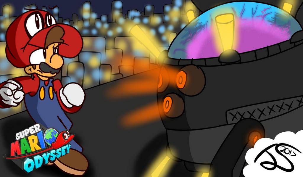 Super Mario Odyssey The Mecha Wiggler By Robloxandmario On