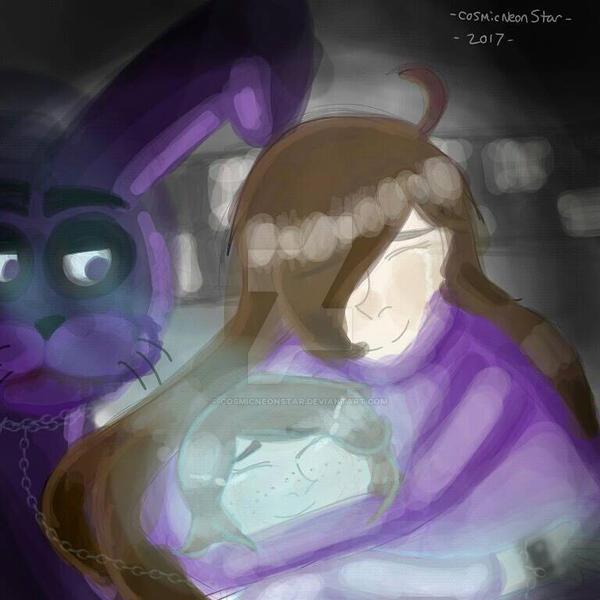 FNAF Bonnie  by cosmicneonstar