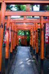 Torii at Ueno Park