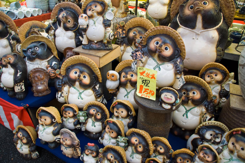 Tanuki Statues for Sale by SuperPope