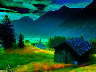Landscape by BackTr4ck