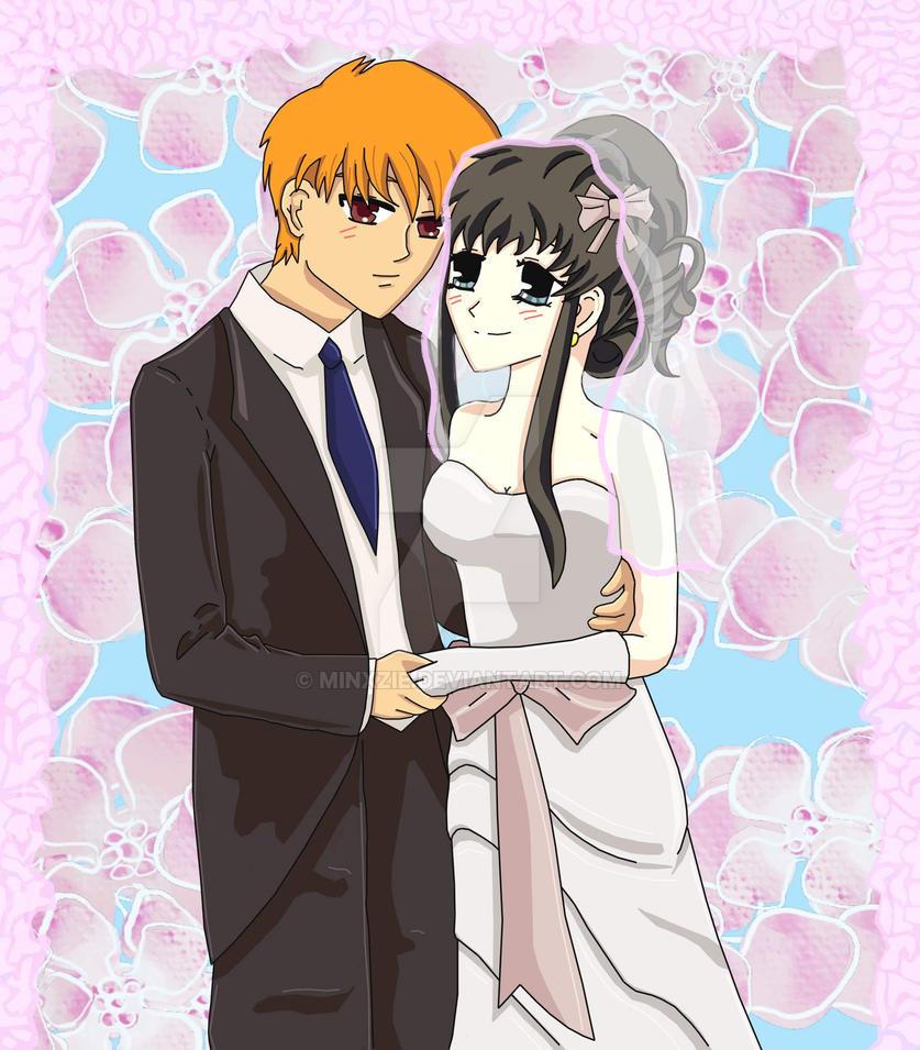 Fruits Basket Where To Watch: Wedding: Tohru Honda And Kyo Sohma By Minxzie On DeviantArt